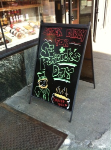 St. Paddy's day in Brooklyn